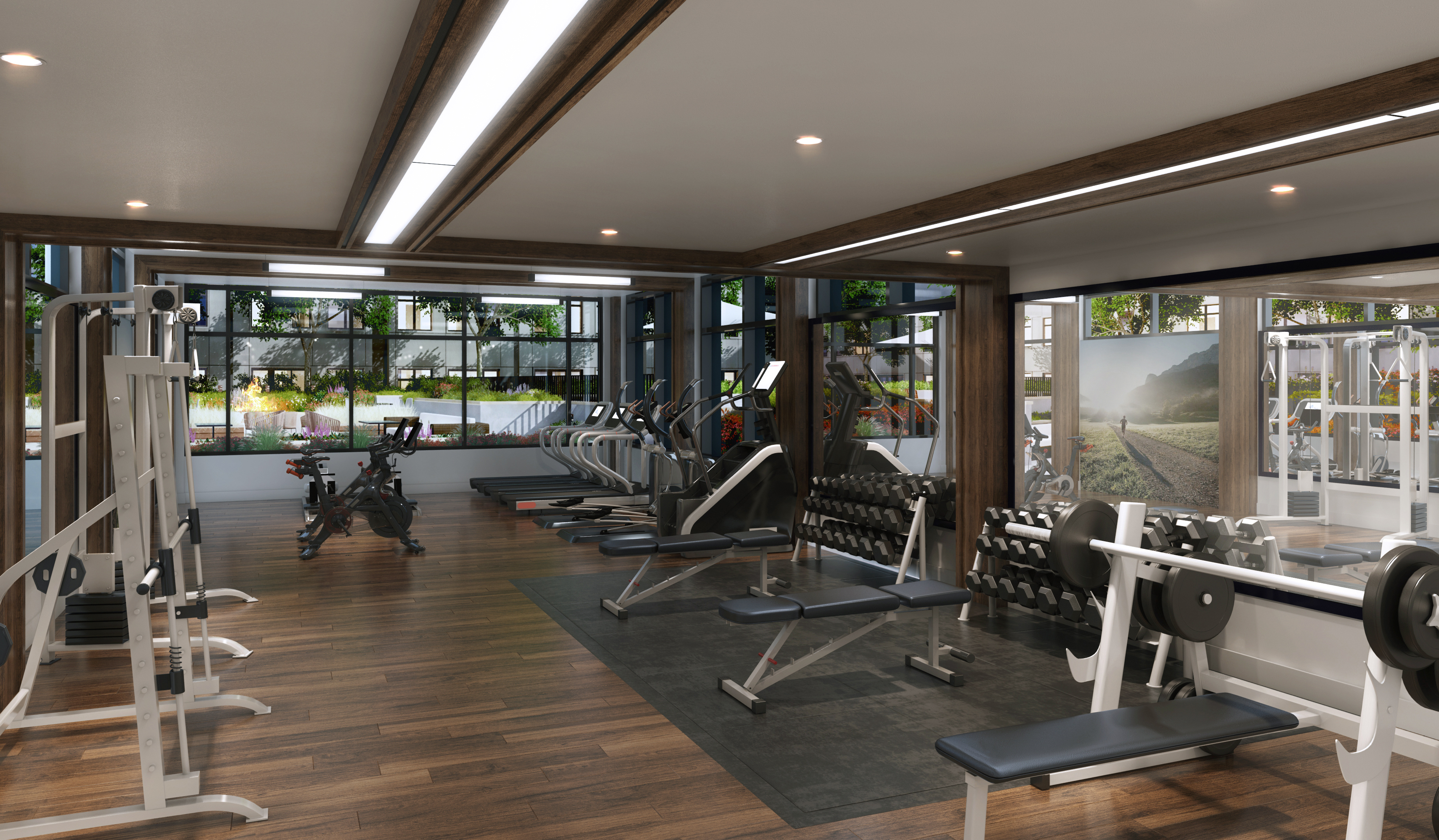 Fremont Residences - Fitness Center